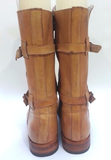 Bed|Stü Double-buckle Enduring Leather Rustic Boots Image 6