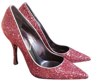 Dsquared2 Burgundy Pumps