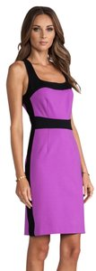 Nanette Lepore short dress Purple & Black on Tradesy