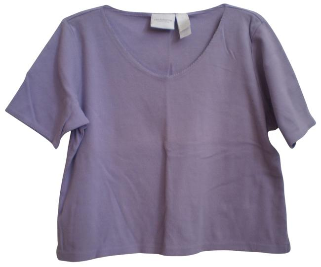 Preload https://item4.tradesy.com/images/liz-claiborne-lavender-t-shirt-tee-shirt-size-16-xl-plus-0x-146033-0-1.jpg?width=400&height=650