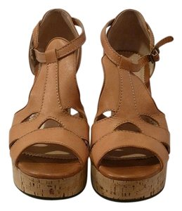 Chloé Tan Sandals