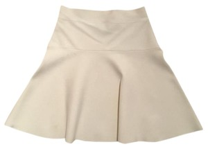 BCBGMAXAZRIA Mini Holiday Cocktail Mini Skirt White