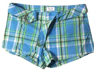 Abercrombie & Fitch Mini/Short Shorts Plaid