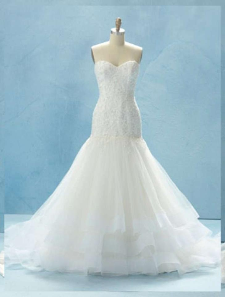 Alfred angelo cinderella 216 disney fairy tale collection for Cinderella wedding dress up