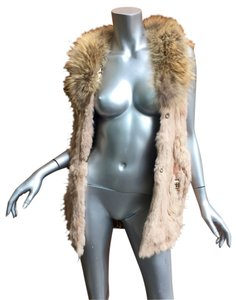 Fur Mink Fox Real Genuine Fur Coat
