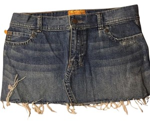 Hollister Mini Skirt Jean