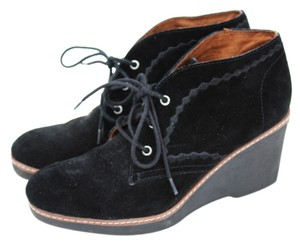 Naturalizer Wedge Black Boots