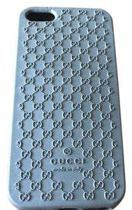 Gucci Grey Gucci Rubber Iphone Case