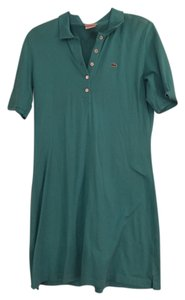 Lacoste short dress Teal on Tradesy