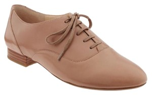 Banana Republic Oxford Leather Nude Flats