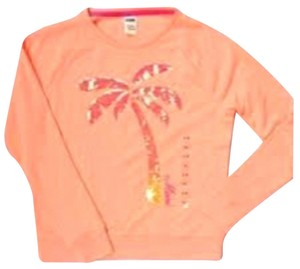 PINK Victorias Secret Bling Sequin Palm Tree New Sweatshirt