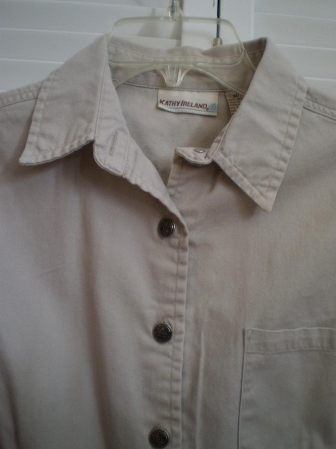Kathy Ireland Button Down Shirt