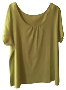 Venezia by Lane Bryant Top Green