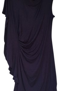 Ella Moss short dress Navy blue on Tradesy