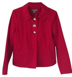 Ann Taylor Red Jacket