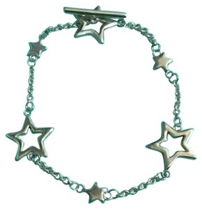 Tiffany & Co. Authentic Tiffany & Co. Sterling Silver Star Lariat Toggle Bracelet