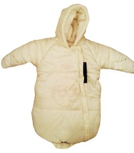 FUBU Infant Puffer Cream Pink Coat