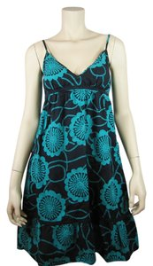 Splits59 short dress Black Blue on Tradesy