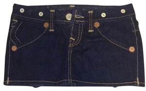 True Religion Mini Skirt Blue