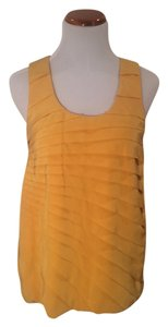 Madison Marcus Summer Silk Top Yellow