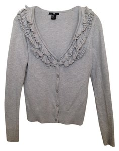 H&M Ruffled Chic Cardigan