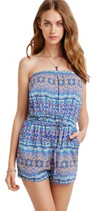 Forever 21 Romper Coachella Tube Dress