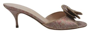 Badgley Mischka Ago Open Toe Pink Pumps