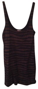 Free People short dress Black and Brown Mini Club on Tradesy