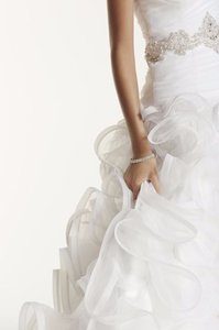David's Bridal Swg492 Wedding Dress