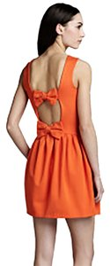 RED Valentino short dress orange on Tradesy