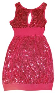 bebe Sexy Sequin Bling Dress