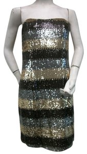 A.B.S. by Allen Schwartz Cocktail Sequin Dress