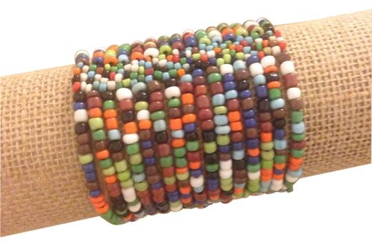 Other Multicolor Beaded Stretch Bracelet
