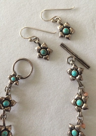 Other Sterling Silver Bracelet And Earrings Set
