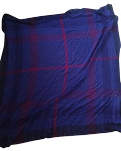 Burberry Wool Check Scarf Square