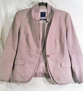 J.Crew Cotton Blend Textured taupe Blazer