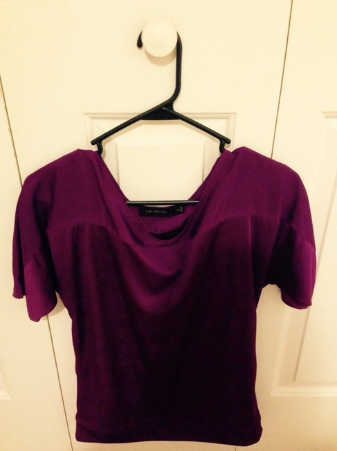 The Limited Top Purple