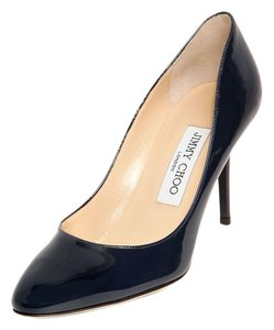 Jimmy Choo Gilbert Leather Black (Patent) Pumps