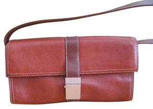 Kenneth Cole Reaction Chestnut Clutch