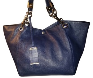 Jimmy Choo Lohla Tote in royal blue