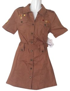 South Pole Collection short dress Brown Crusaders on Tradesy