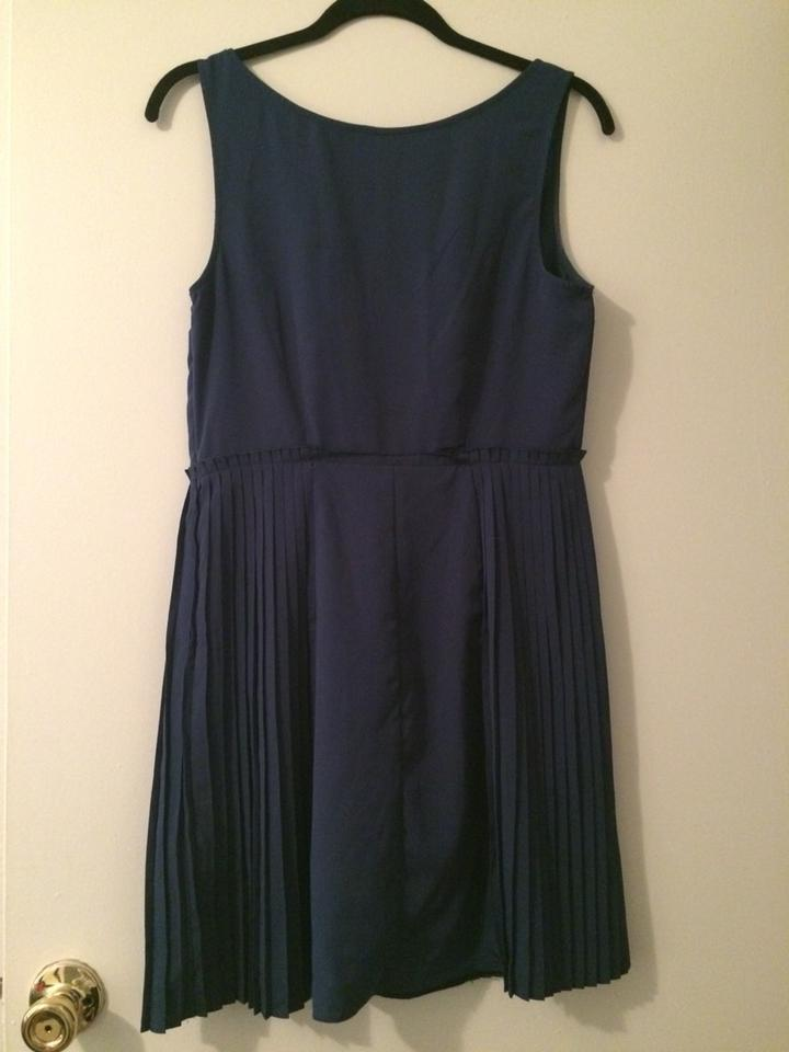Lc Lauren Conrad Navy Formal Dress Size 12 L Tradesy
