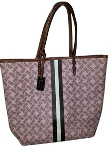 Juicy Couture Vintage Purse Tote in pink brown