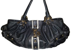 Juicy Couture Leather Studded Hobo Bag