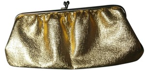 Independent Clothing Co. Purse Handbag Small gold Clutch