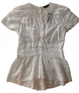 BCBG Max Azria Top White