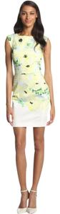 French Connection short dress Sheath Tropical Floral Summer on Tradesy