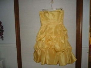 Alfred Angelo Enchanted Glow Taffeta 501 Formal Bridesmaid/Mob Dress Size 8 (M)