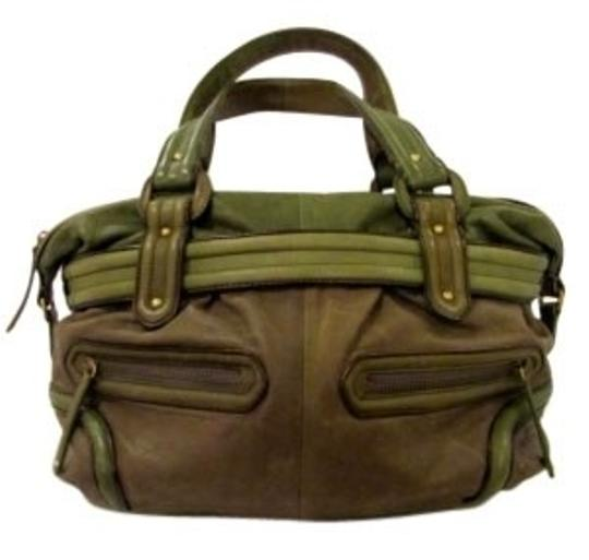 Preload https://item5.tradesy.com/images/cole-haan-green-leather-satchel-14614-0-0.jpg?width=440&height=440