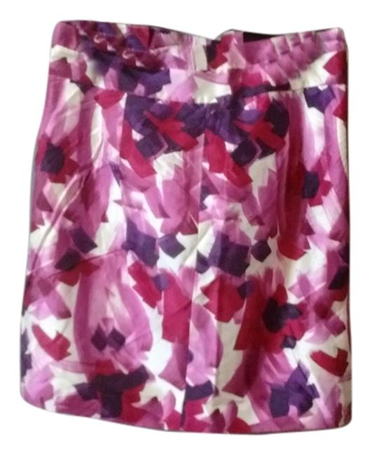 Item - Purple Pink and White Skirt Size 10 (M, 31)